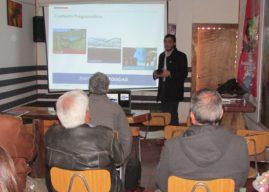 Campesinos de Monte Patria se informan sobre Estudio que regulará uso de las aguas del río Mostazal