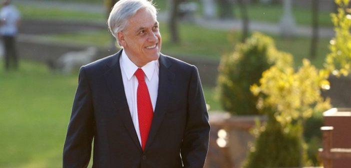 Piñera aumenta su respaldo ciudadano
