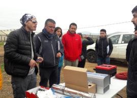 En Atacama y Coquimbo capacitan a la pequeña agricultura en uso de equipos de riego