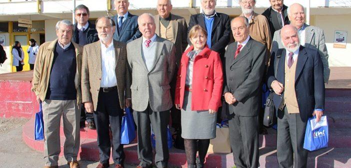 Grupo Alerce de CChC realizó charla motivacional en Liceo Ernesto Pinto Lagarrigue de Rancagua