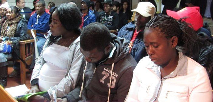 En Coquimbo Migrantes haitianos se informan sobre derechos y deberes laborales