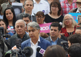 """Marco Enríquez-Ominami: """"Nadie cuestionó visitas de Bush, Clinton y Obama"""""""