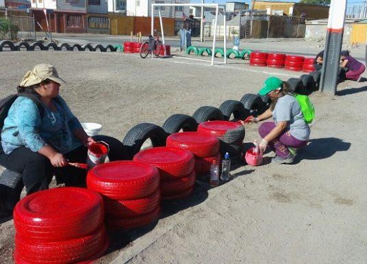 Vecinos de Calama mejoran entorno y calidad de vida