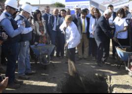 Bachelet dio inicio a obras del Hospital Claudio Vicuña de San Antonio