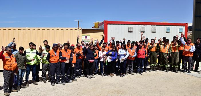 """CChC Calama celebró """"en terreno"""" Día del Trabajador de la Construcción"""