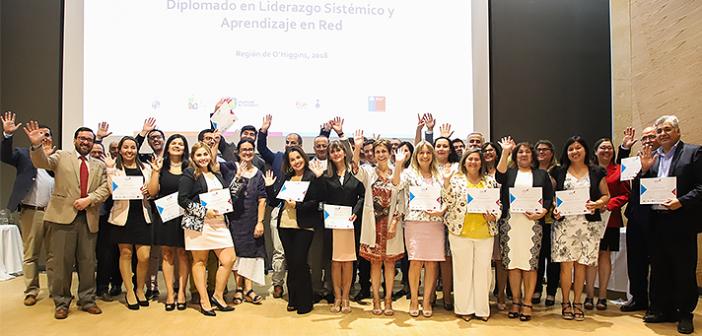 Región de O´Higgins: UOH y PUCV certifican profesionales de la educación en Liderazgo Sistémico