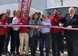 Minera Candelaria inaugura planta de procesamiento de productos del mar Punta Frodden