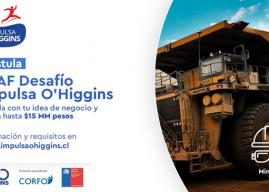 Región de O´Higgins: Más de 120 proyectos postulan para ser parte del SSAF Desafío Impulsa O'Higgins