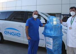 ENGIE dona ventilador mecánico a Hospital de Calama