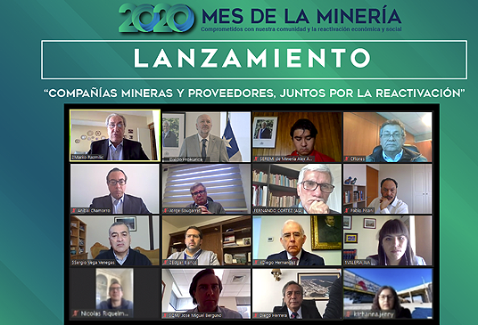 Redes empresariales, educación inicial y valor compartido: las claves que marcaron el Mes de la Minería 2020