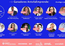 Quinta versión de AntofaEmprende premia a 11 startups chilenas