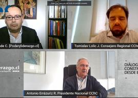 """Antonio Errázuriz, Presidente de la CChC: """"Necesitamos reactivar las confianzas para reactivar Chile"""""""