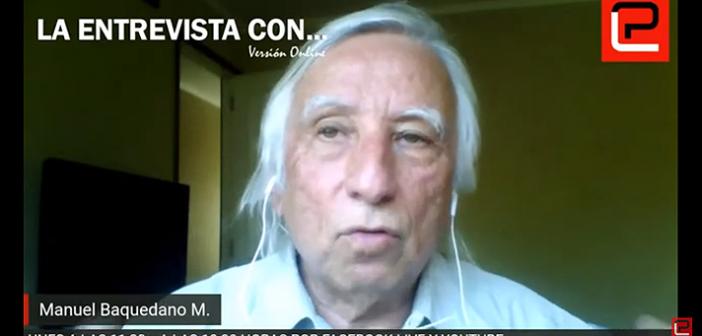 """Manuel Baquedano: """"Una Constitución con responsabilidad ambiental y políticas de autocontención humana"""""""