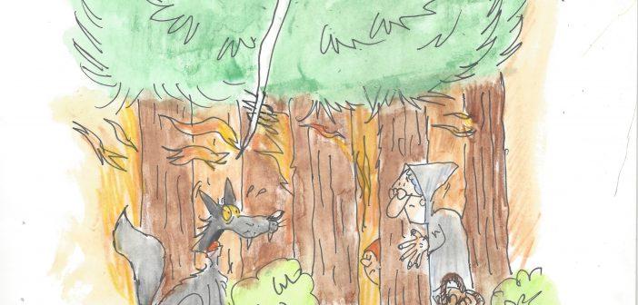 [Humor Gráfico] El lobo Feroz