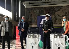 Región del Biobío: UdeC y Asmar entregan 10 ventiladores mecánicos al Hospital Regional de Concepción