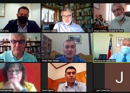 Región de Antofagasta: Senador Guillier y Alcaldes se reúnen con Ministro Paris para coordinar esfuerzos ante rebrote de la pandemia