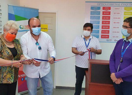 Municipio de Coquimbo abre Óptica Comunal con anteojos 80% más barato que en el mercado tradicional