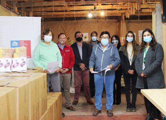 FOSIS apoya a Organizaciones Sociales que ayudan a sus comunidades