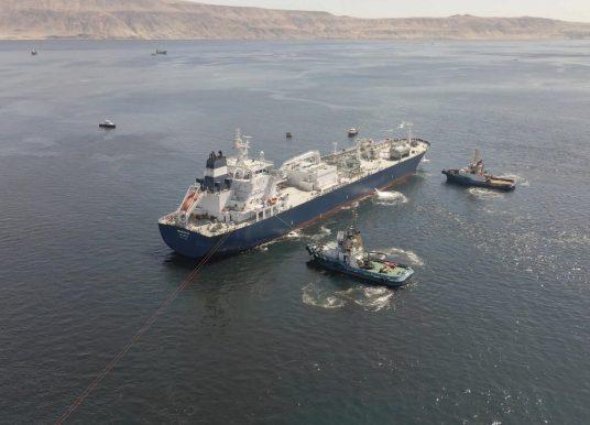 [Región de Antofagasta] Llega primera nave que abastecerá de gas licuado a la zona norte del país