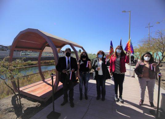 Región de Antofagasta: Inauguran mirador borde río para el avistamiento de aves en Parque El Loa