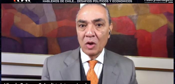 """Libardo Buitrago: """"Chile no recuperará el ritmo económico en menos de 5 años"""""""