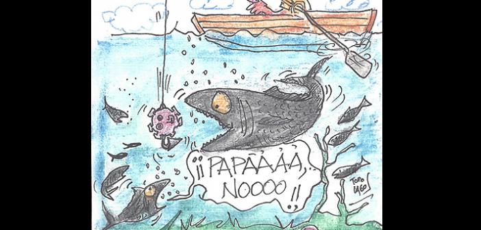 [Humor Gráfico] Virus pesca