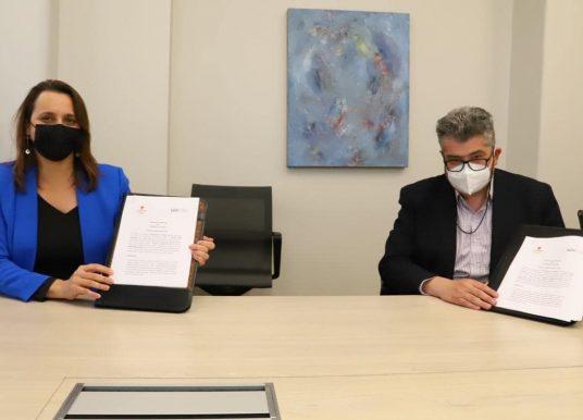 División El Teniente y Universidad de O'Higgins firman convenio de colaboración