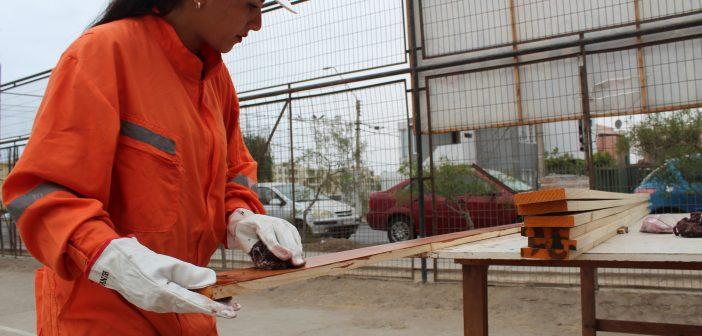 Región de Valparaíso: Estudiantes Técnicos Profesionales mejoran su formación en obras de construcción
