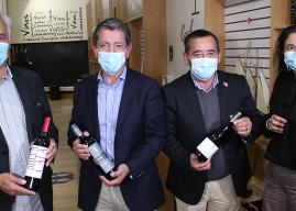 Región de O'Higgins: Monticello y el Valle del Cachapoal se unen para fortalecer la promoción de vinos de la zona